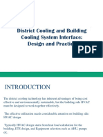 District Cooling Design Consideration & Guidelines