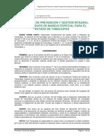 Reglamento Gestión Integral Residuos