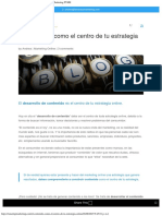 El Contenido Como El Centro de Tu Estrategia Online - Marketing PYME