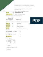 Mathcad - Descargador de Fondo diseño