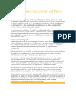 La contaminación en el Perú.docx