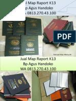 WA 0813.270.43.100, Jual Harga Map Raport K13 diPanyabungan Sumatra Utara