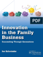 879_(Family Business Leadership Series) Joe Schmieder (Auth.)-Innovation in the
