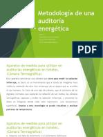 Unidad 3 Metodología de una auditoría energética