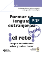 estandares basicos en la formacion de la lengua extranjera