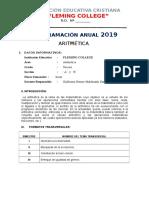 Programacion Anual 2019 Fc1 Formato