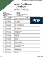 [Cetak Daftar Hadir] 16 Nov 15