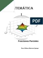 MATEMATICA I Fracciones Parciales