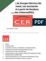 Generación de Energia Electrica a Partir de Residuos Solidos Urbanos Municipales (RSU)