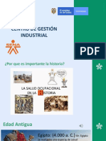 Historia de La Salud Ocuacional