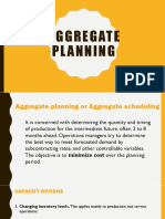 Aggregate Planning 3