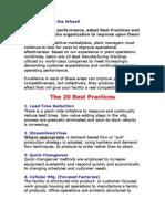 20 Best Practices