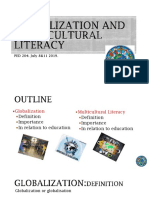 Globalization and Multicultural Literacy
