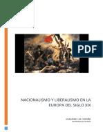 Nacionalismo y Liberalismo en La Europa