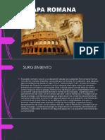 Etapa Romana