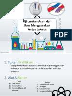 Praktikum Uji asam basa dengan kertas lakmus.pptx