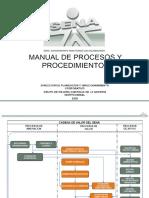 37491695 Manual de Procesos y Procedimientos