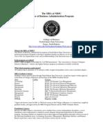 MBA Fact Sheet