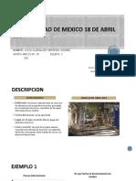 Sismo Ciudad de Mexico 18 de Abril 2014