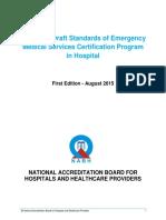 Draft Emergency Medical Services