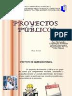 PROYECTO DE INVERSIÓN PUBLICA
