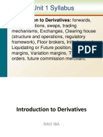 01. Introduction to Derivatives