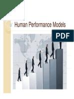 3 UNIT 1 11 Jul 2019Material II 11 Jul 2019 Human Performance Models