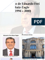 Gobierno de Eduardo Frei Ruiz Tagle
