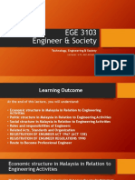 Lecture notes Engineering society  week 2,3