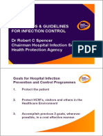 Guidelines Infection Control