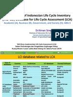 Talk Show LCA _by Dr.Kiman Siregar (Ketua ILCAN)_10 Juli 2019_Final.pptx