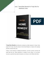 Vertigo Home Remedy   Natural Home Remedies For Vertigo That You Should Know About.pdf