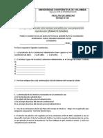 Base de Preguntas d. Procesal Administrativa