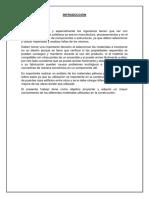 Informe de Materiales Pétreos