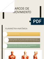 Arcos de Movimiento y Planos 2