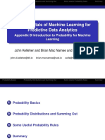 Appendix B Introduction to Probability for Machine Learning