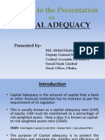 Capital Adequacy Presentation 1 (2)