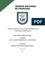PLICACIONES DE LA EVALUACION SENSORIAL - LUIS GUINDE.docx