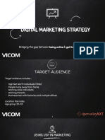 Vicom Digital Marketing Strategy