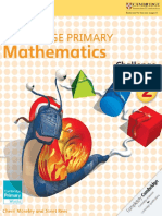 Cambridge Primary Mathematics Sample