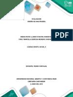 Fase 3 – Diseño de Una Prueba