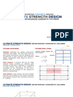 Ultimate Strength Design of Reinforced Concrete Columns
