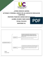 Personal jurídico de las juntas de conciliación y arbitraje