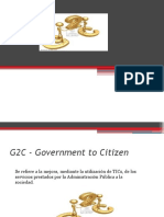 G2C - Government to Citizen