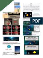 Kepler's Laws of Planetary Motion