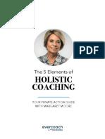 The 5 Elements of Holistic Coaching Workbook