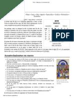 Enero - Wikipedia, La Enciclopedia Libre