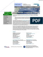 Global Aerosol Climatology Program (NASA)