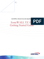 SonicWALL TZ190 Getting Started Guide