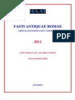 2011 - Calendario Antica Roma Per Stampa